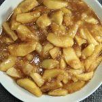 Country Vegan Crockpot Apples