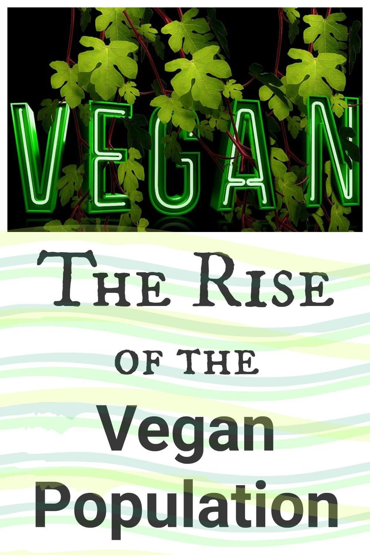 The Rise of the Vegan Population #vegan #veganism #whyvegan