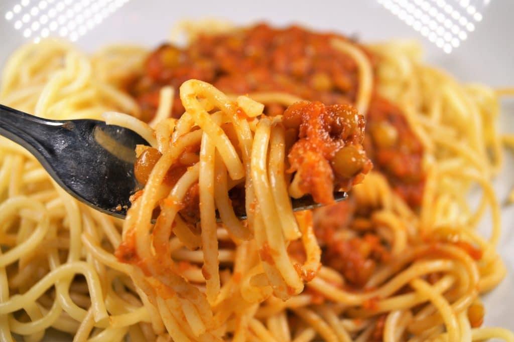 Vegan Lentil Bolognese