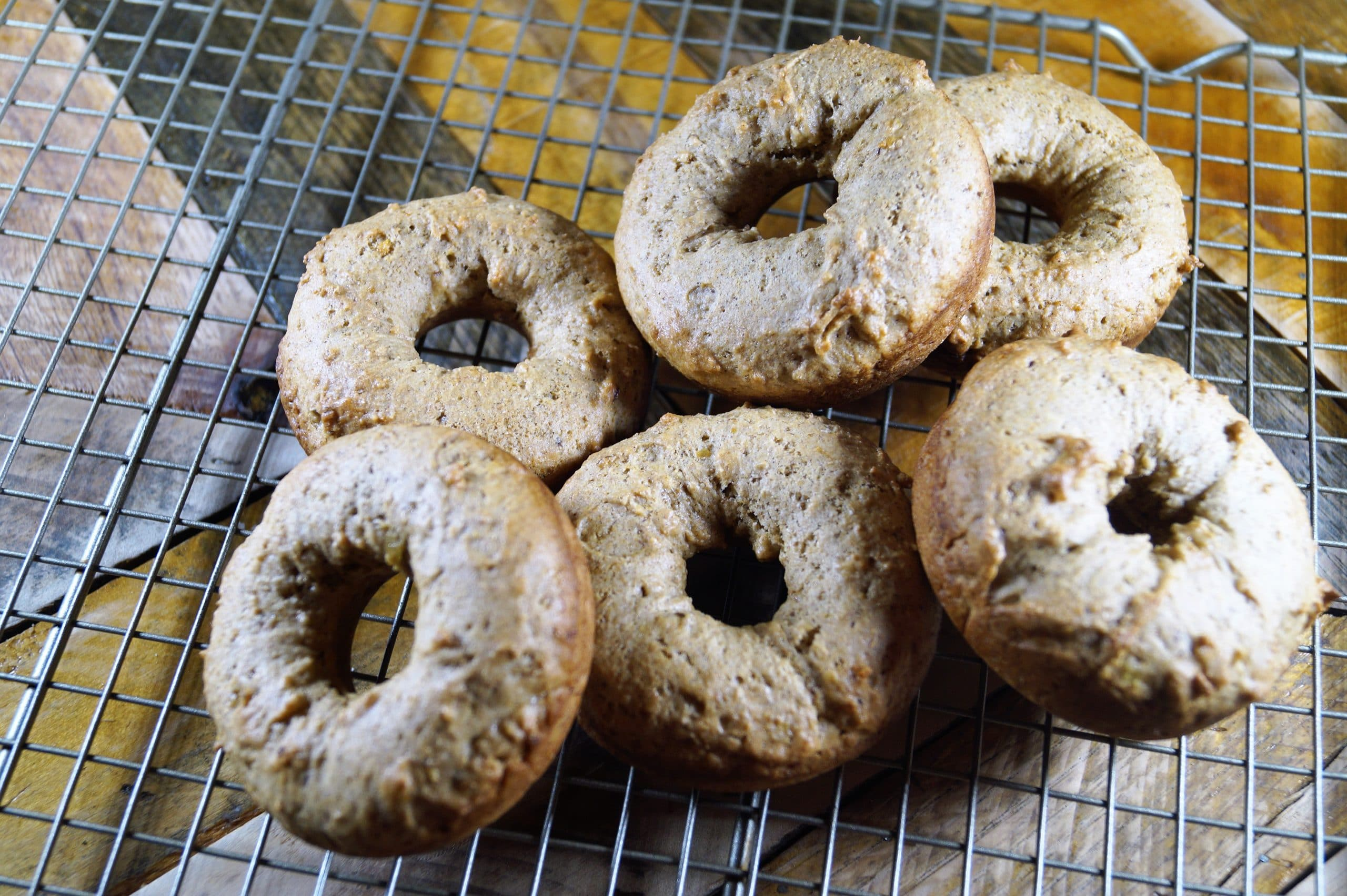 The Bomb Vegan Banana Bread Muffins and Donuts