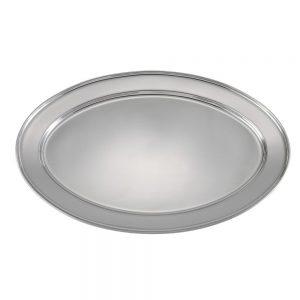 Stainless Steel Oval Platter