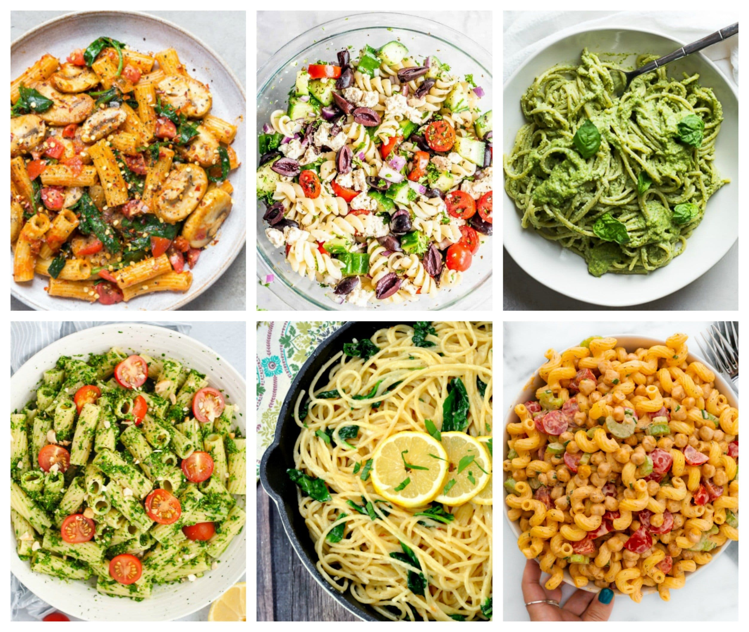 25 Tempting Vegan Pastas We Can't Live Without!