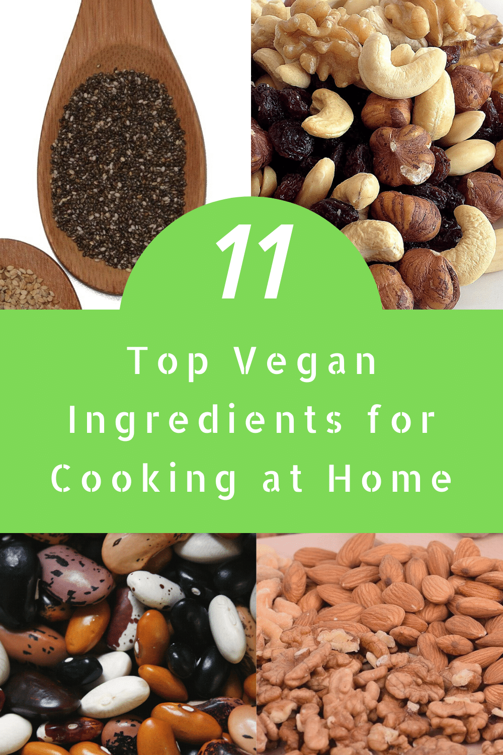 11 top vegan ingredients for cooking at home pinterest